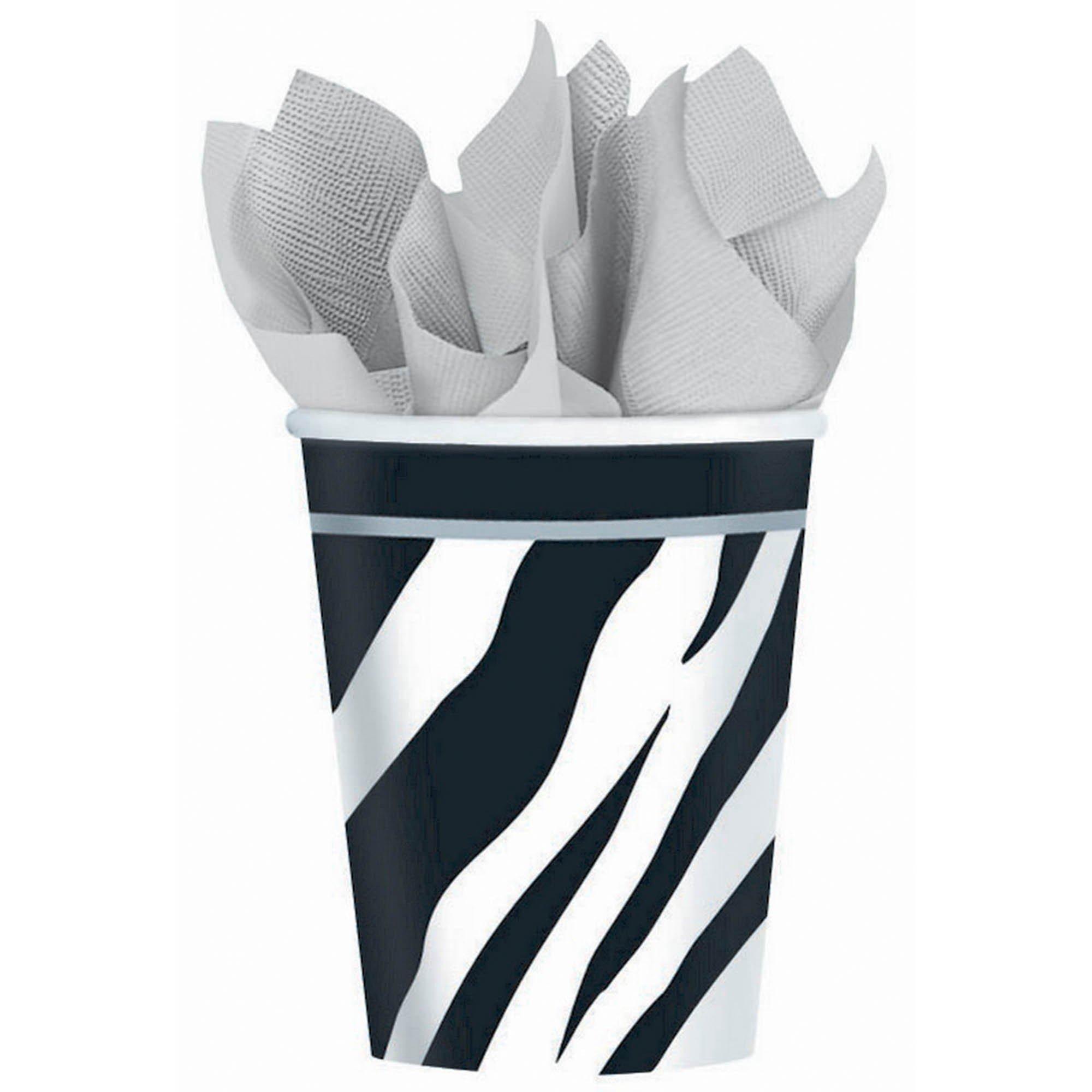 Zebra MID CT 9oz/266ml Cups