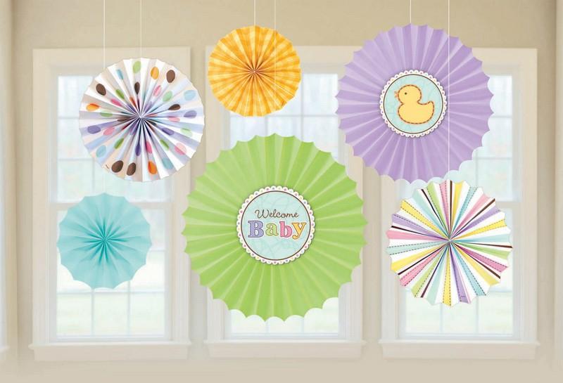 Tiny Bundle Paper Fan Decoration