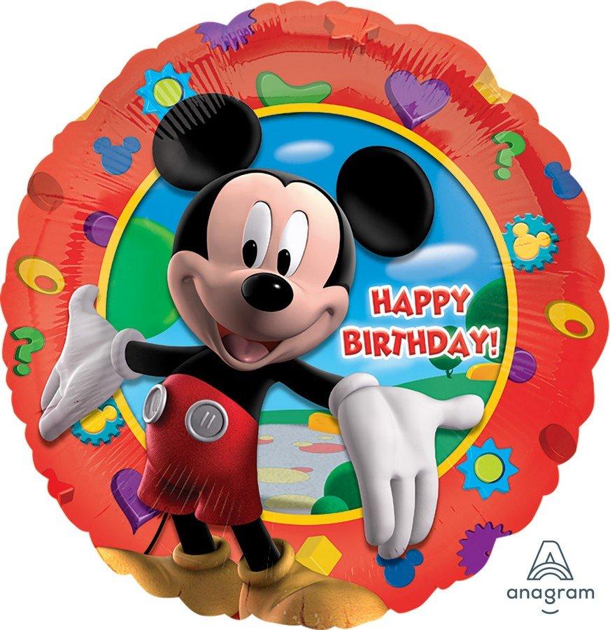 45cm Standard HX Mickeys Clubhouse Happy Birthday S60