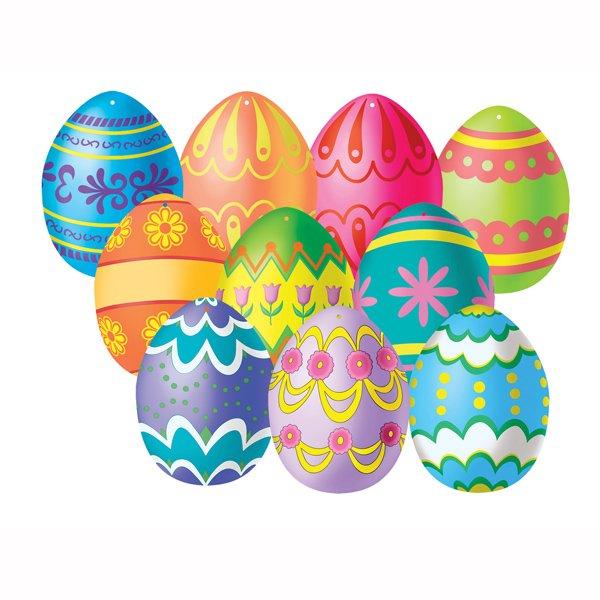 Cutouts Mini Easter Eggs