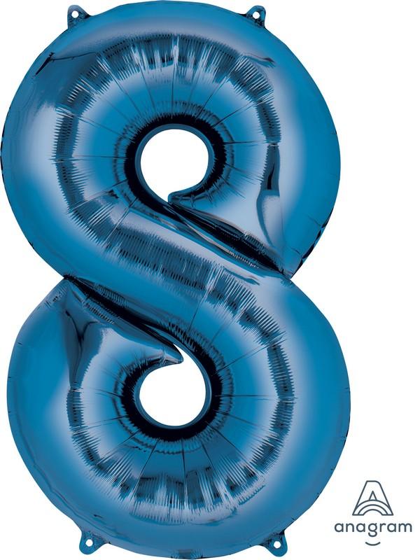 SuperShape Blue Number 8 P50