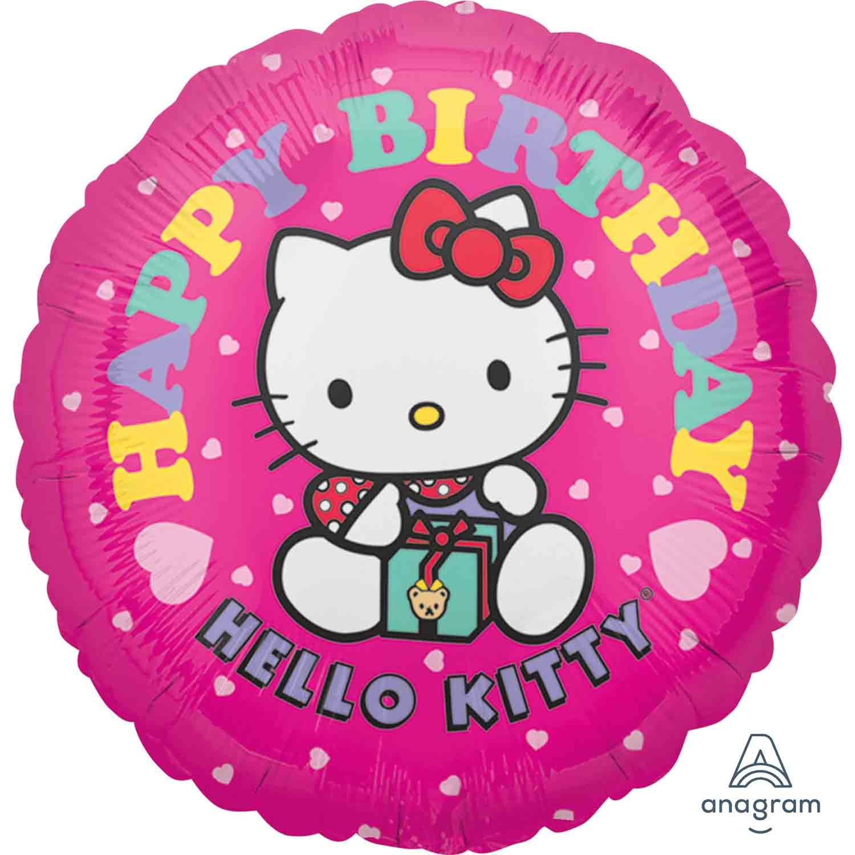 45cm Standard HX Hello Kitty Happy Birthday S50