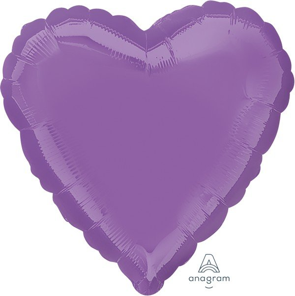 45cm Standard Heart HX Spring Lilac S15