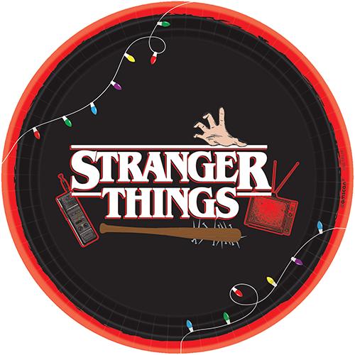 """Stranger Things  9"""" / 23cm Round Plates"