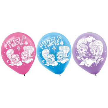 Shimmer and Shine 30cm Latex Balloons