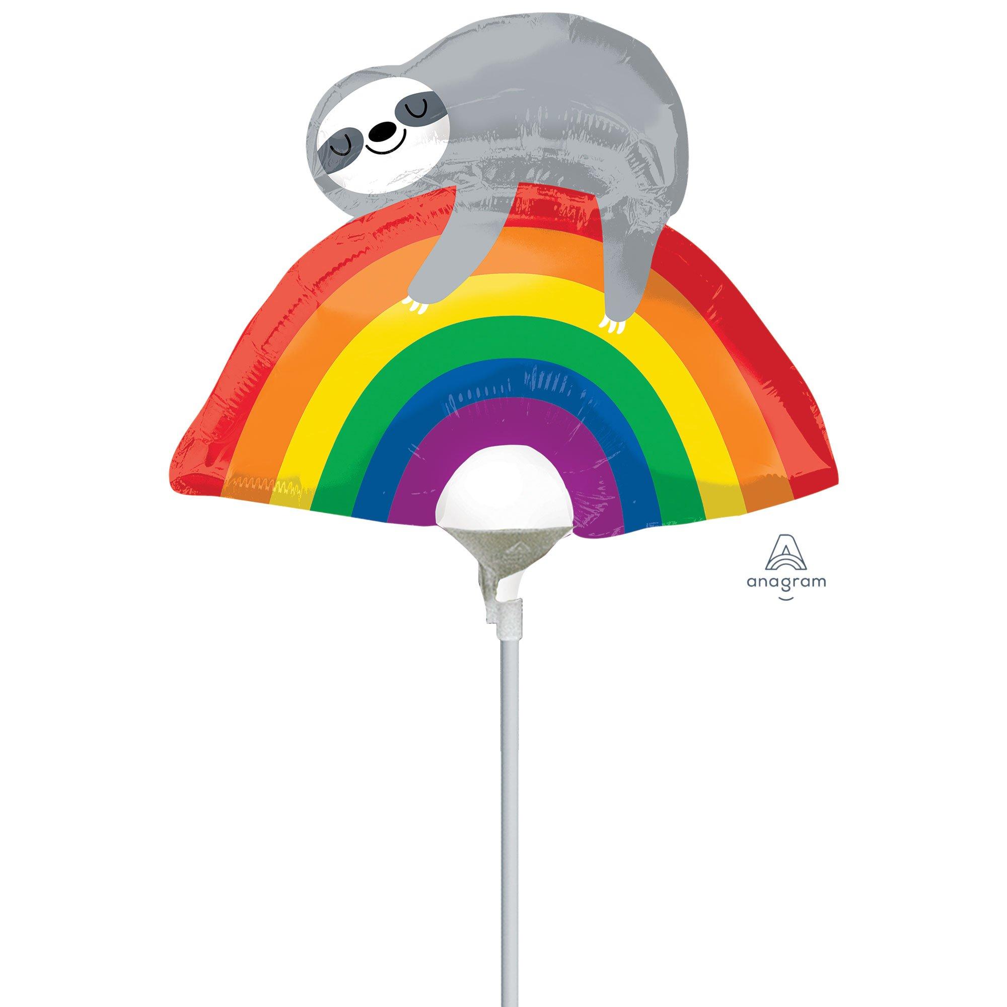 Mini Shape Rainbow Sloth A30
