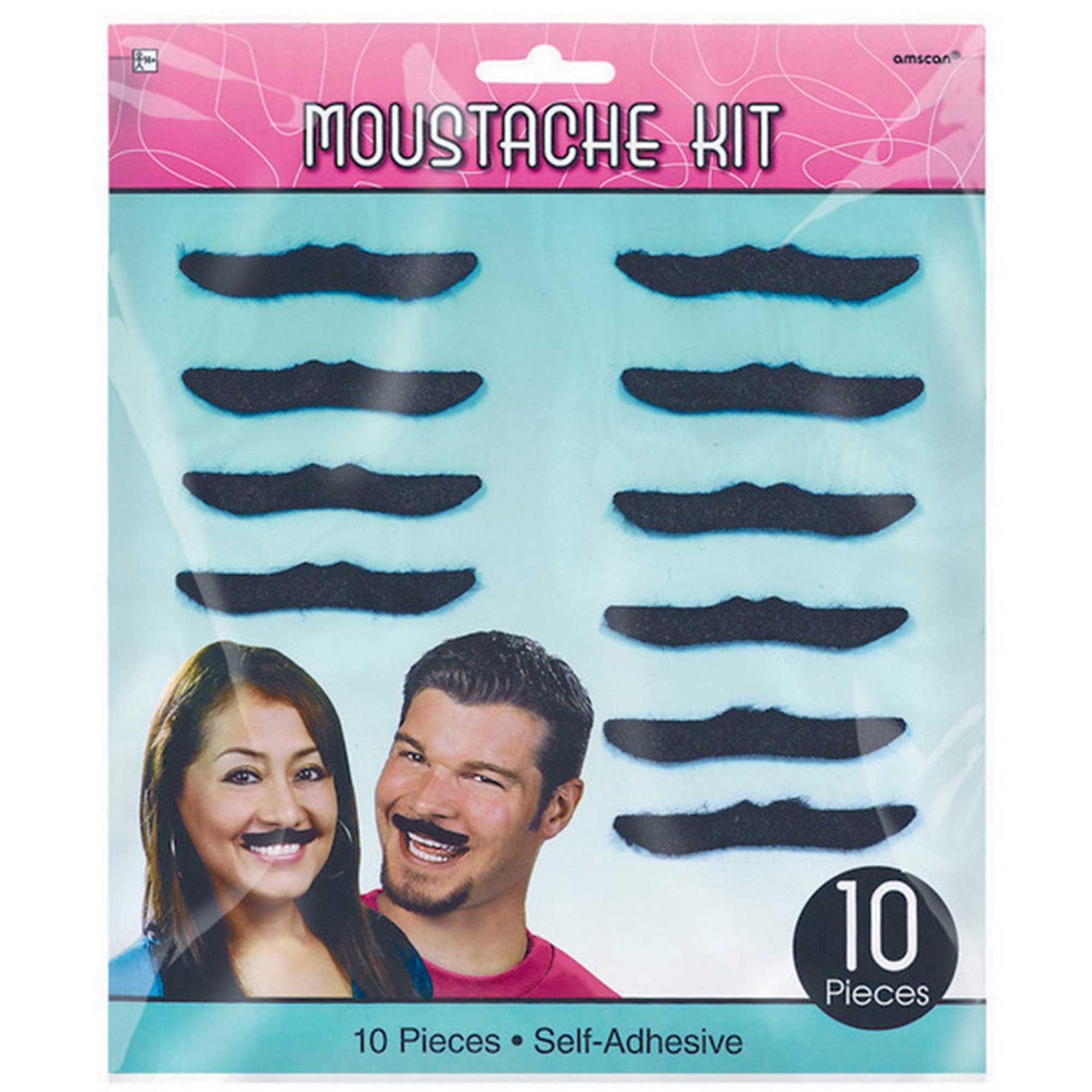 Classic 50's Moustaches - Plush