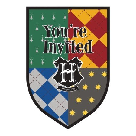 Harry Potter Postcard Invitations