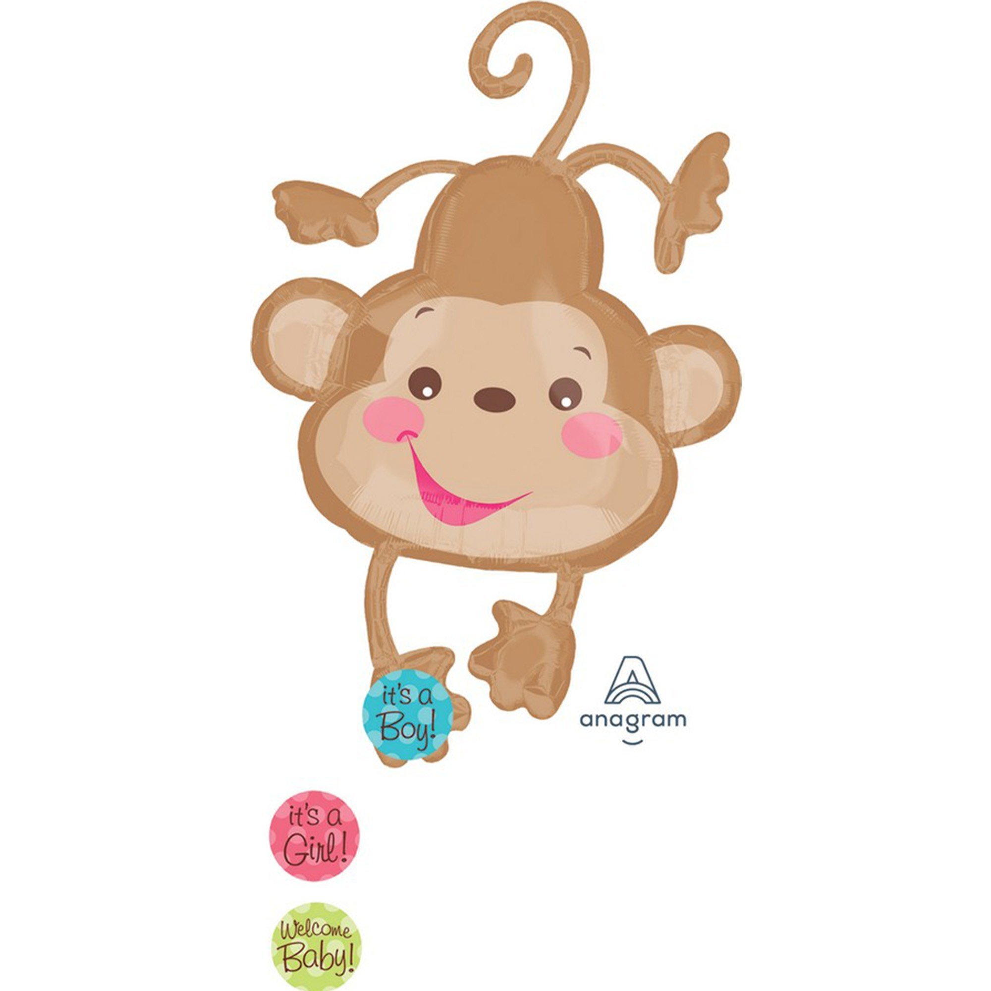 SuperShape XL Doo-Dads Fisher Price Baby Monkey