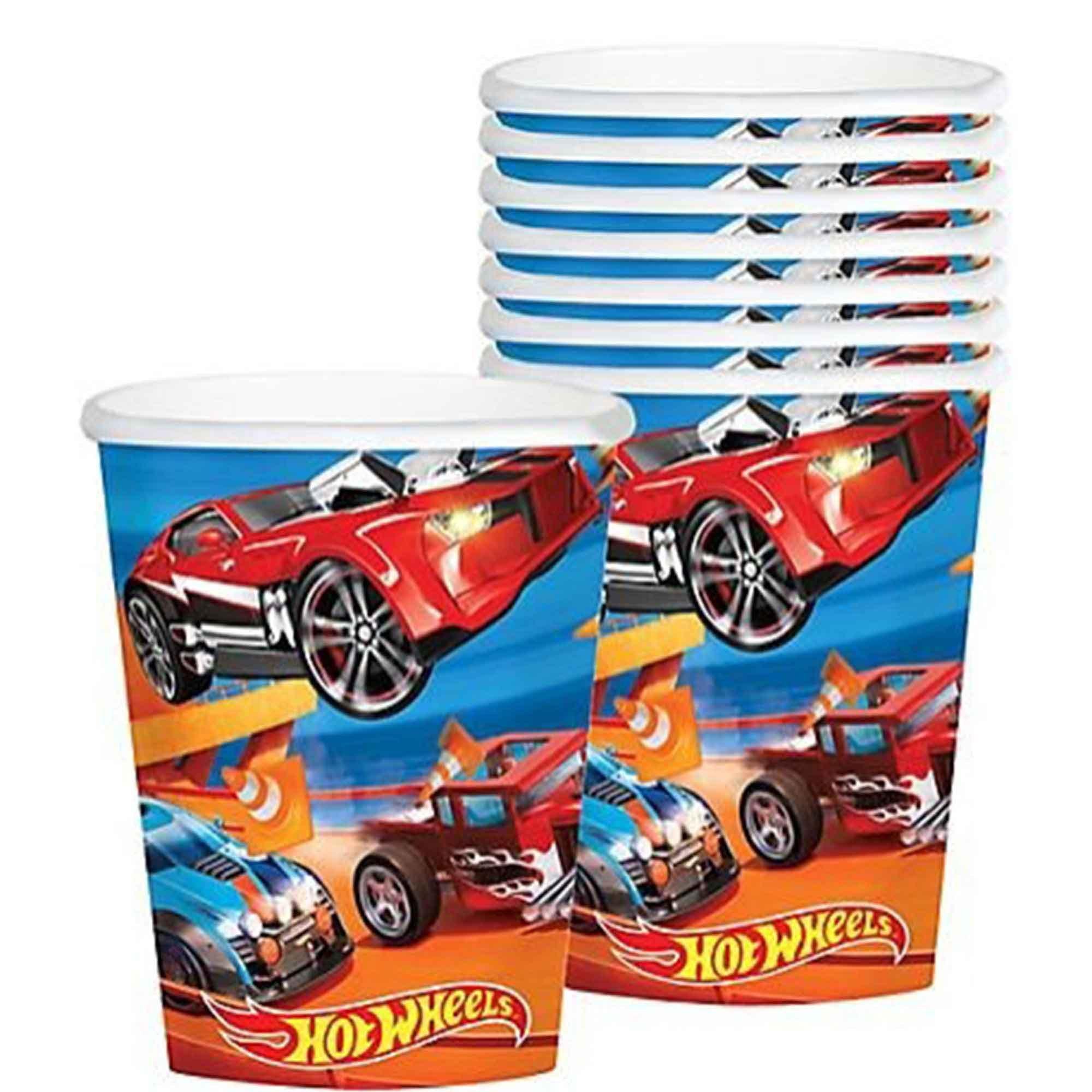 Hot Wheels Wild Racer 266ml Cups