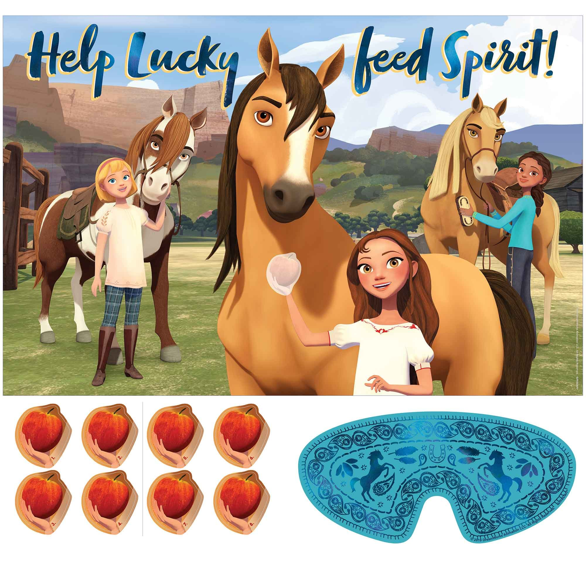 Spirit Riding Free Game Help Lucky Feed Spirit