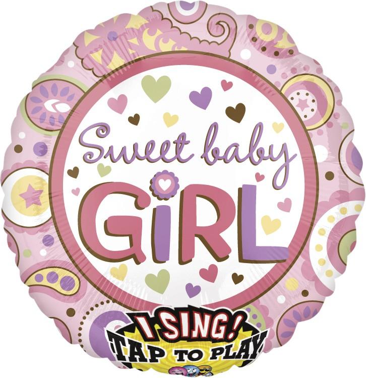Sing-A-Tune  XL  Jumbo Sweet Baby Girl P60