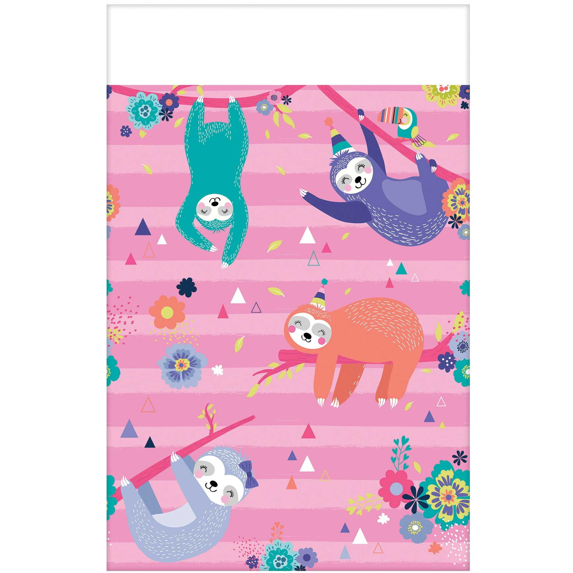 Sloth Paper Tablecover