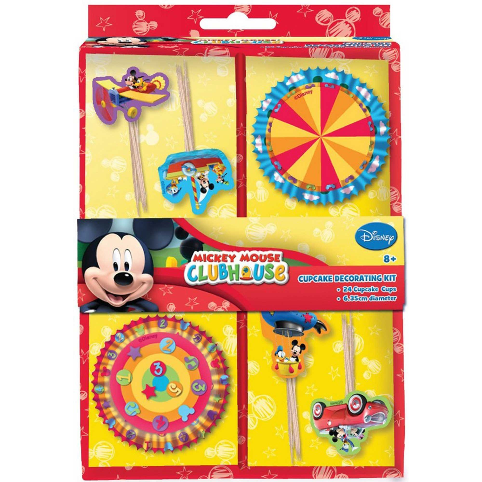 Mickey Mouse Clubhouse Cupcake Kit