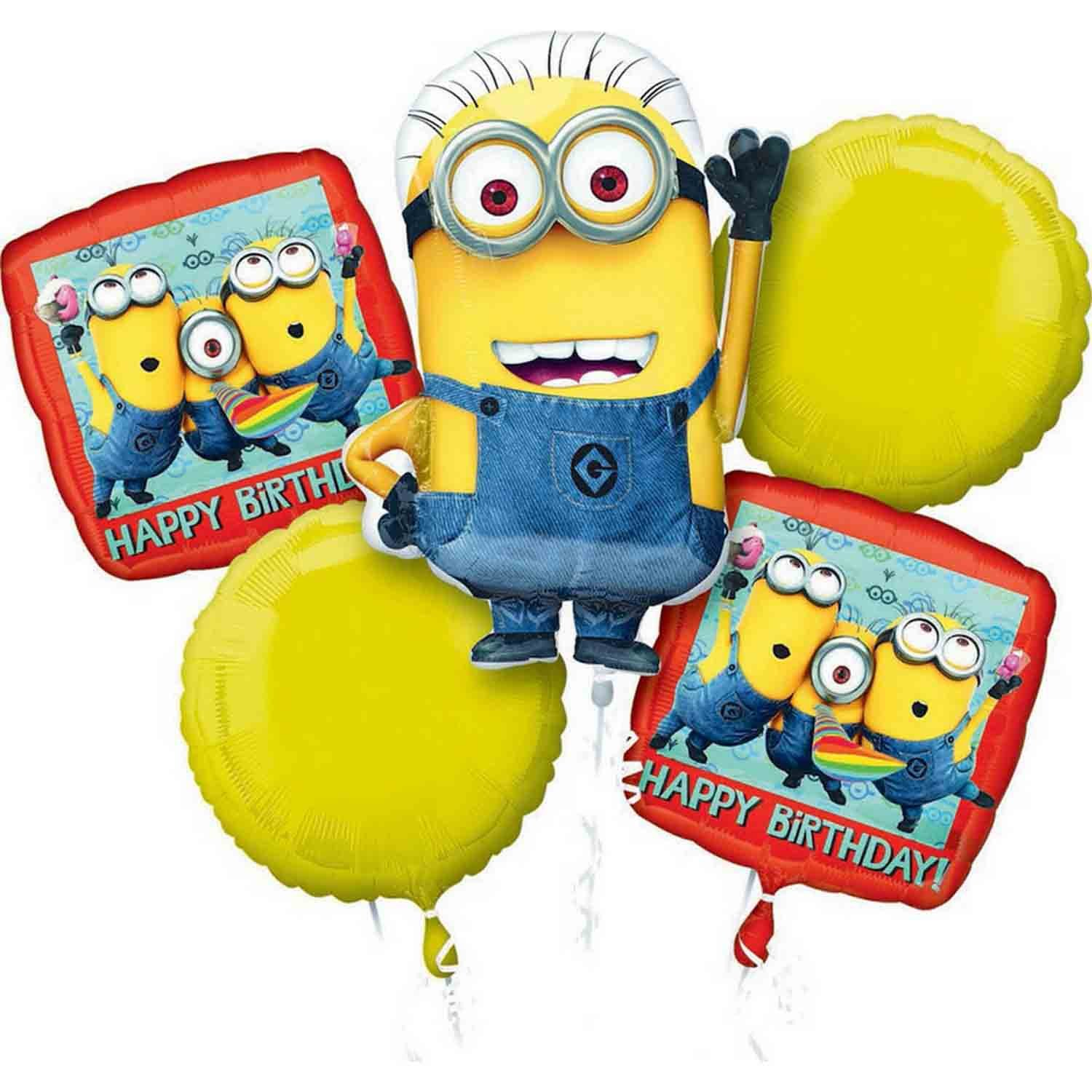 Bouquet Despicable Me Happy Birthday P75
