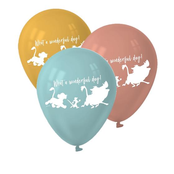 """Lion King 12"""" / 30cm Latex Balloons"