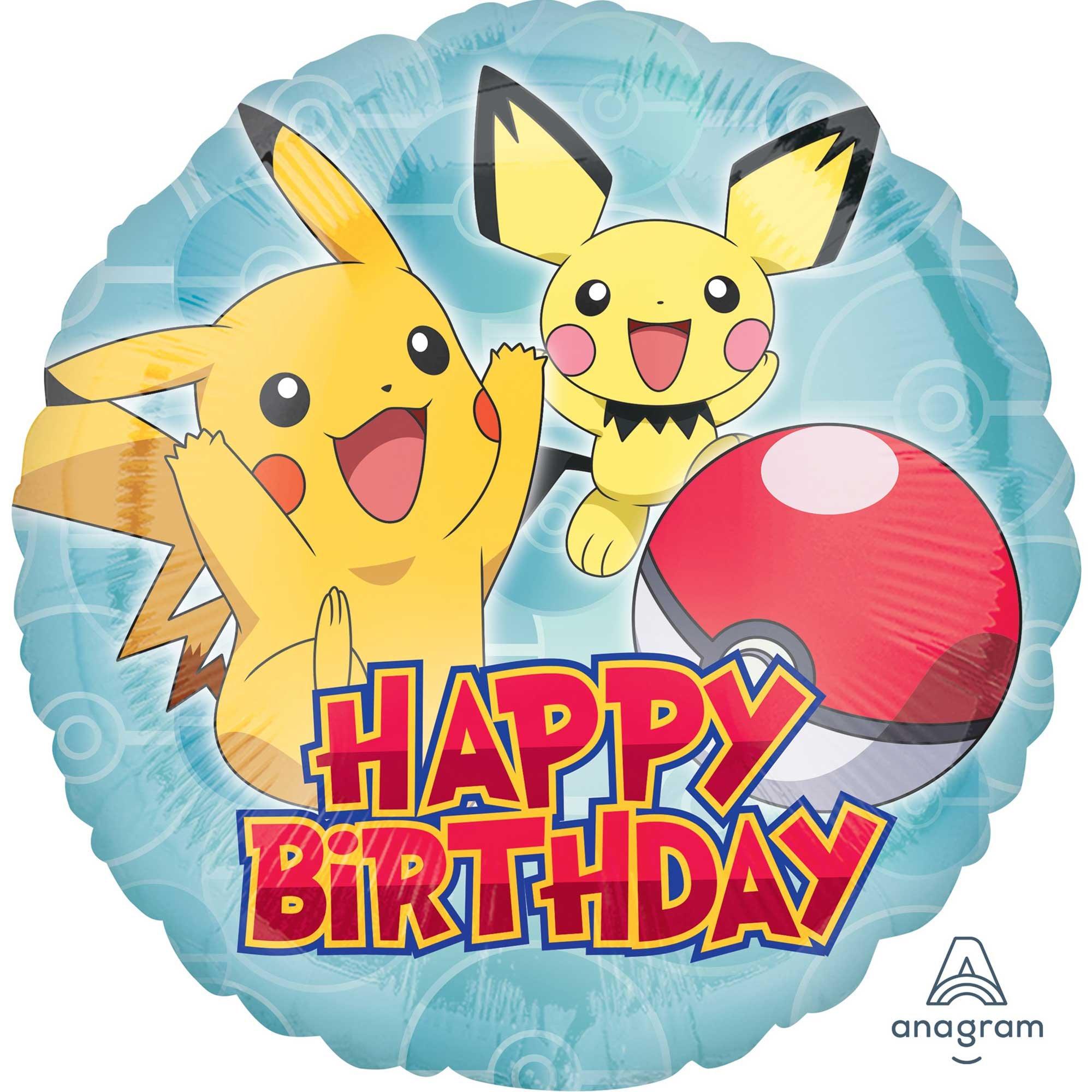 45cm Standard HX Pokemon Happy Birthday S60