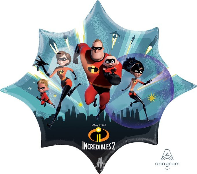 SuperShape XL Incredibles 2 P38