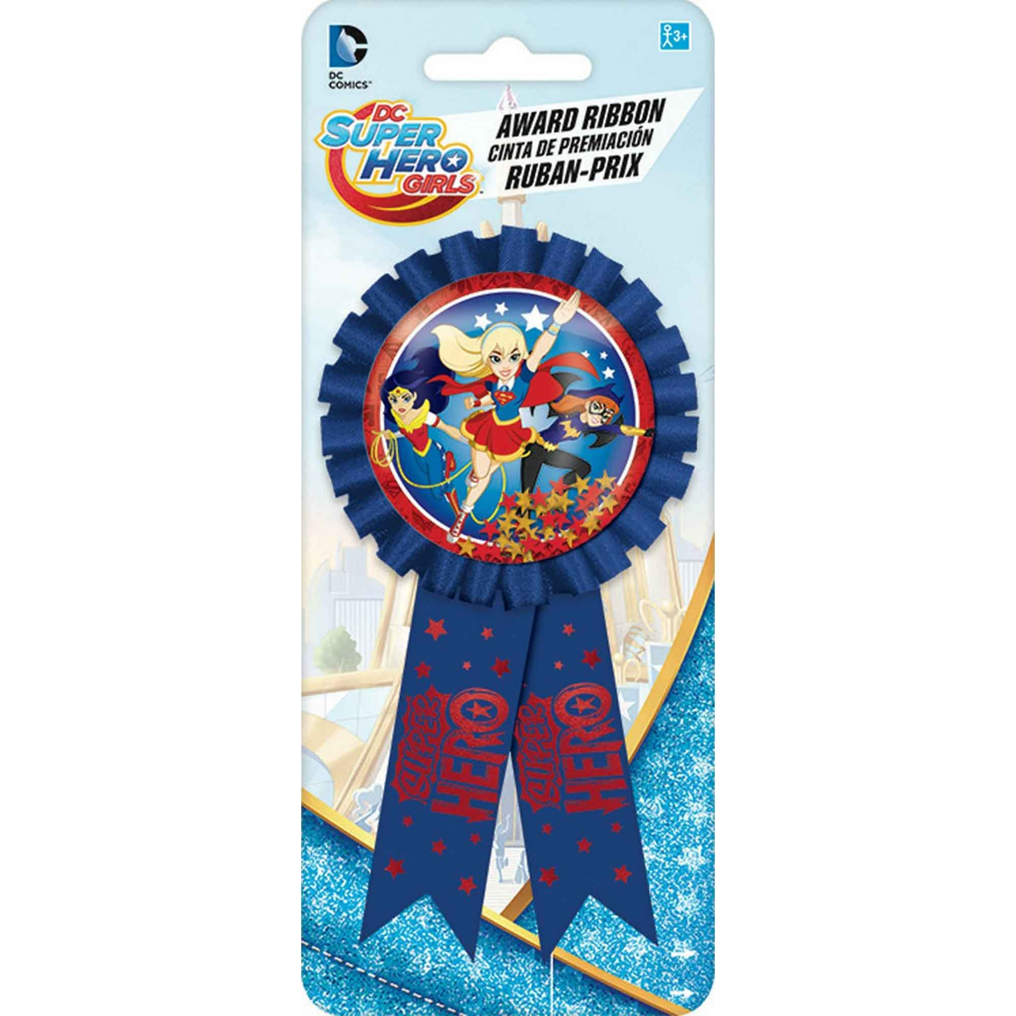 DC Superhero Girls Confetti Award Ribbon