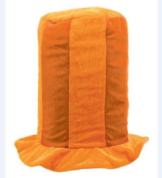 Tall Top Hat - Orange