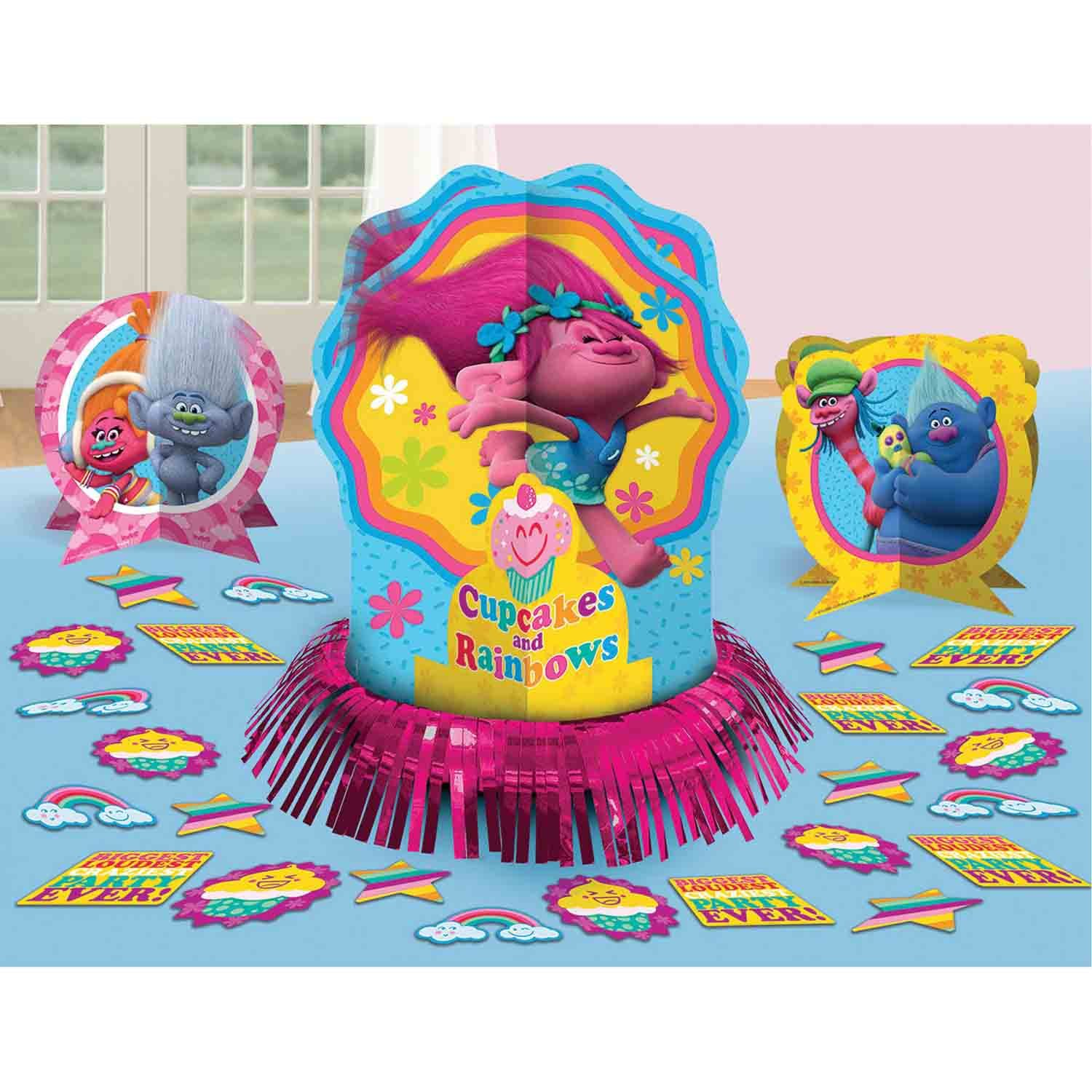 Trolls Table Decorating Kit