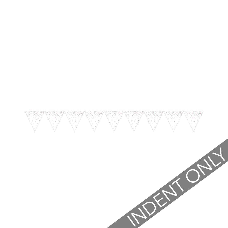 Iridescent Foil Pennant Flag Banner