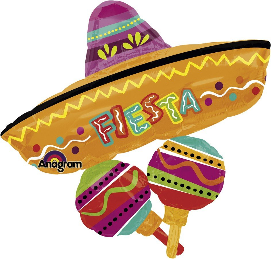 SuperShape Fiesta Fun Hat Cluster P40
