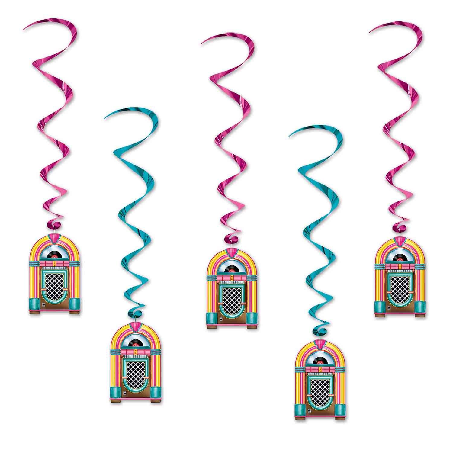 Hanging Decoration Whirls Jukeboxes