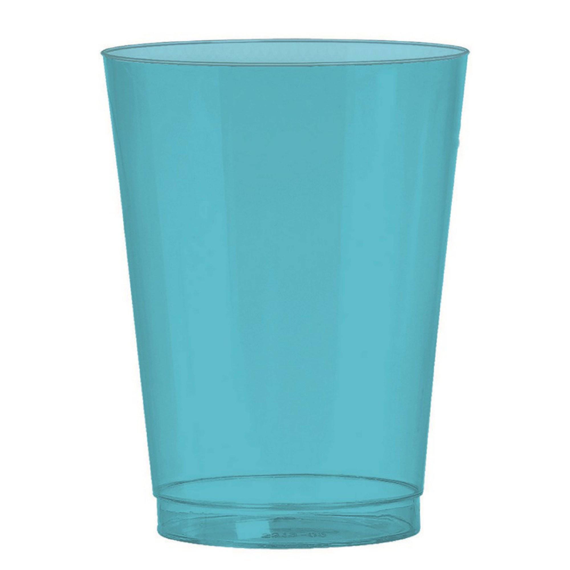 Big Party Pack 295ml Plastic Tumbler Caribbean Blue