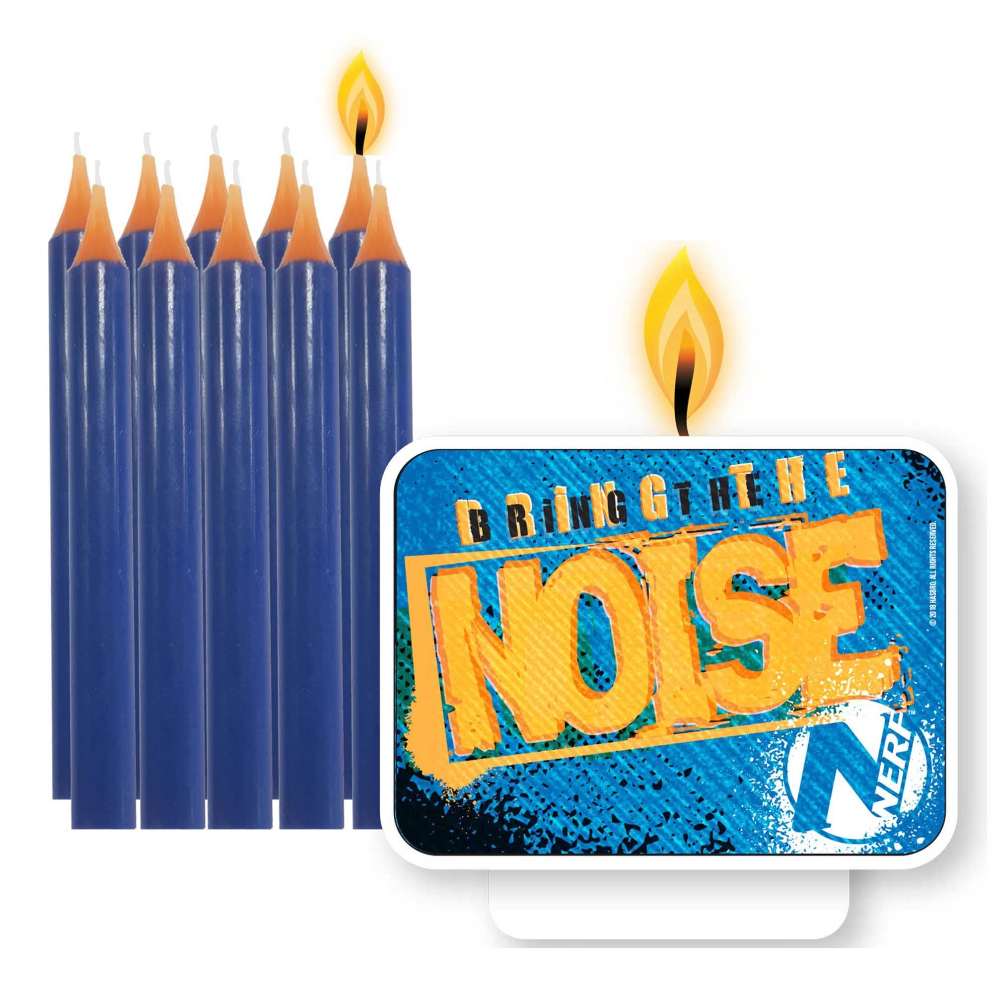 Nerf Candle Set