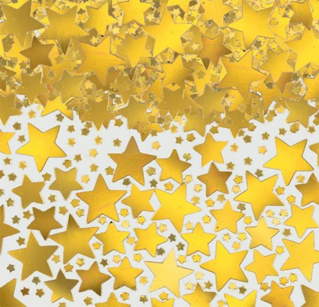 Star Confetti 70g -Gold