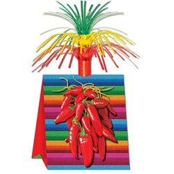 Chilli Peppers Cascade Centrepiece