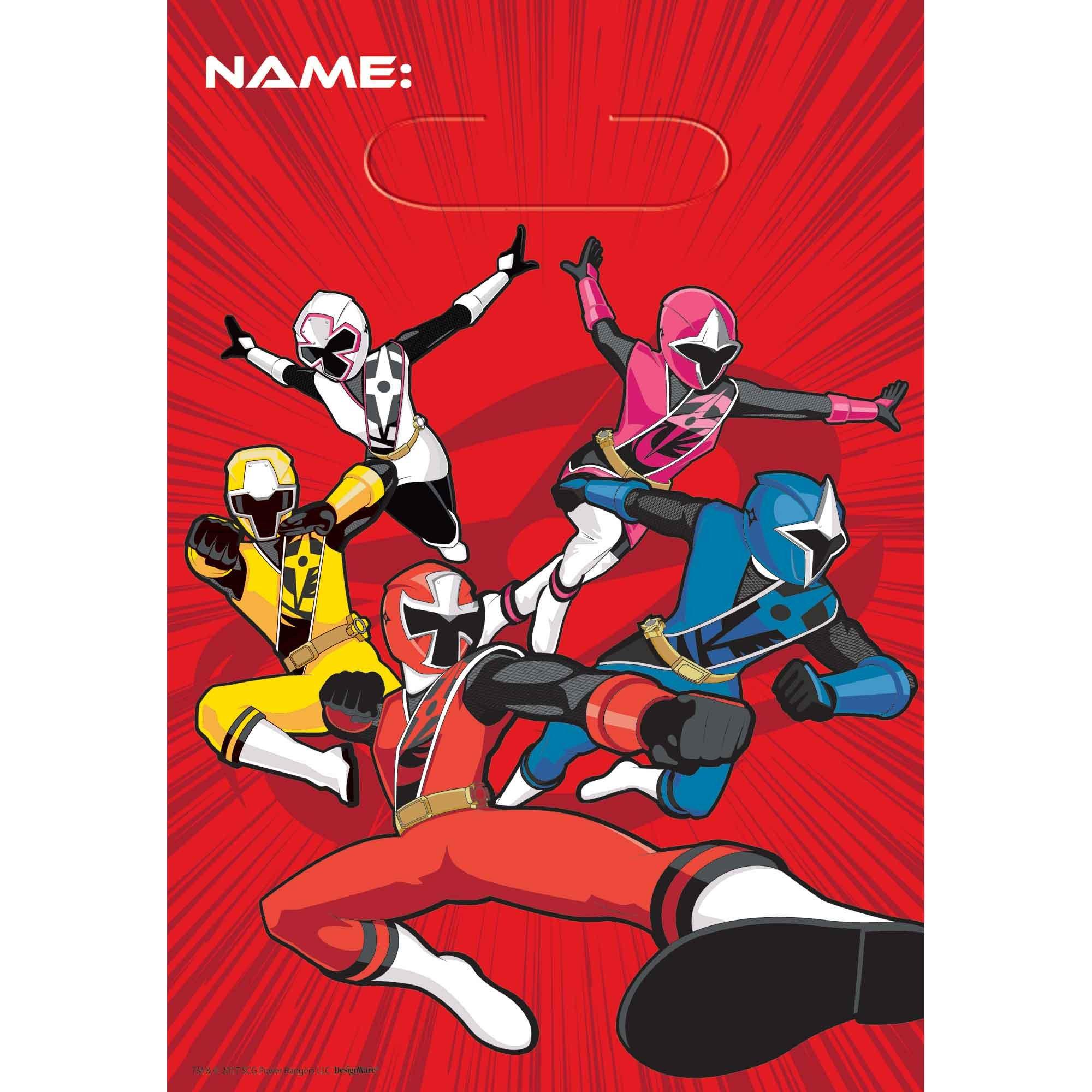 Power Rangers Ninja Steel Loot Bags