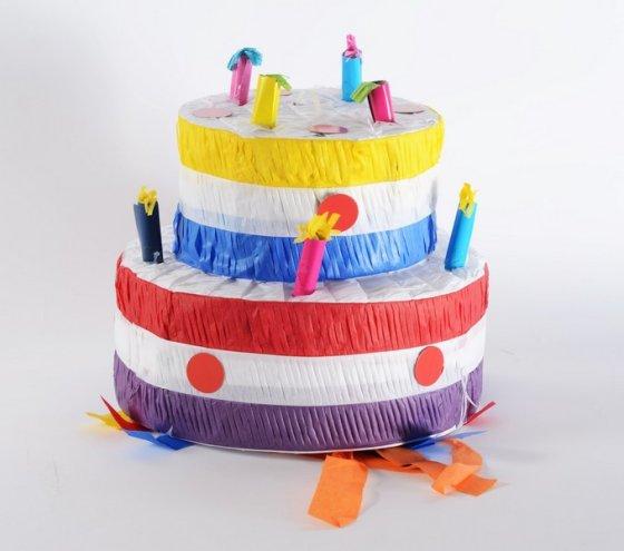 Cake 3D Shape Pinata
