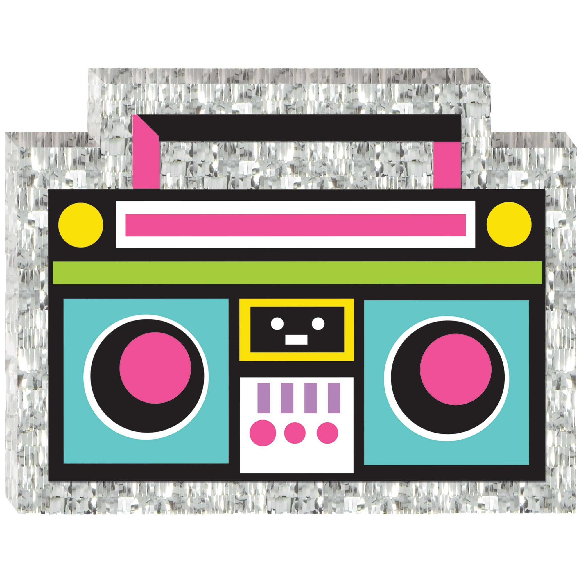 Awesome Party 80's Mini Boom Box Decoration