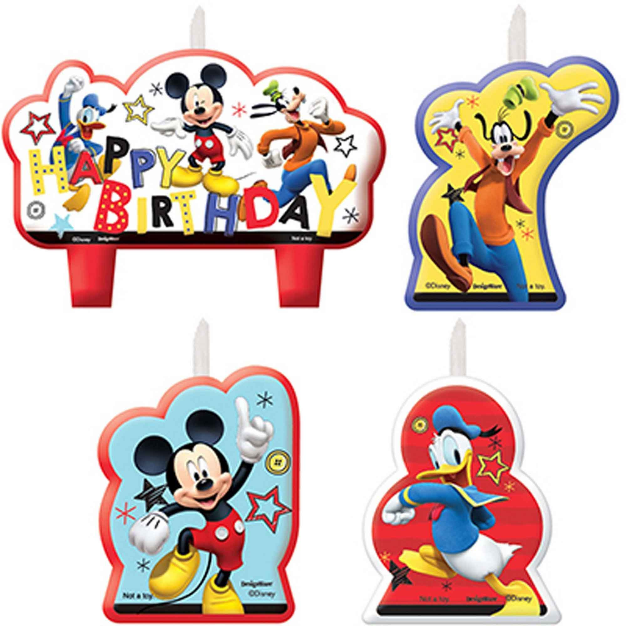 Mickey on the Go Birthday Candle Set