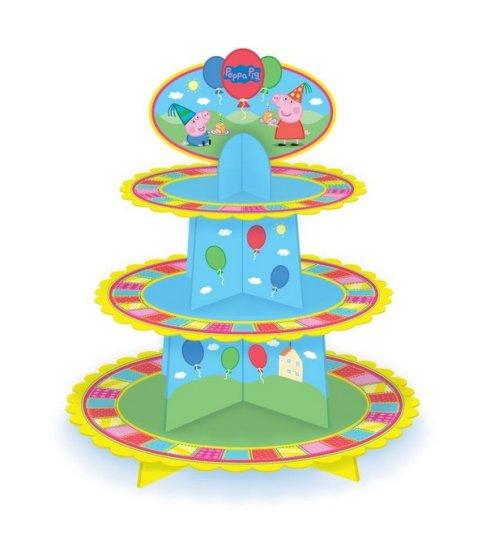 Peppa Pig Cupcake Tier Stand