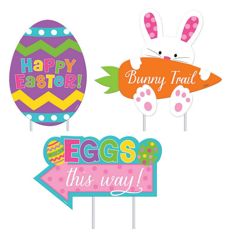 Easter Assorted Sidewalk Signs