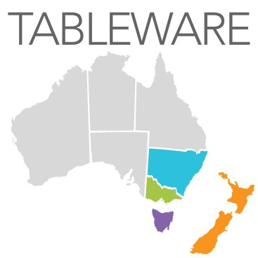 Tableware - NSW,VIC,TAS,WA,NZ