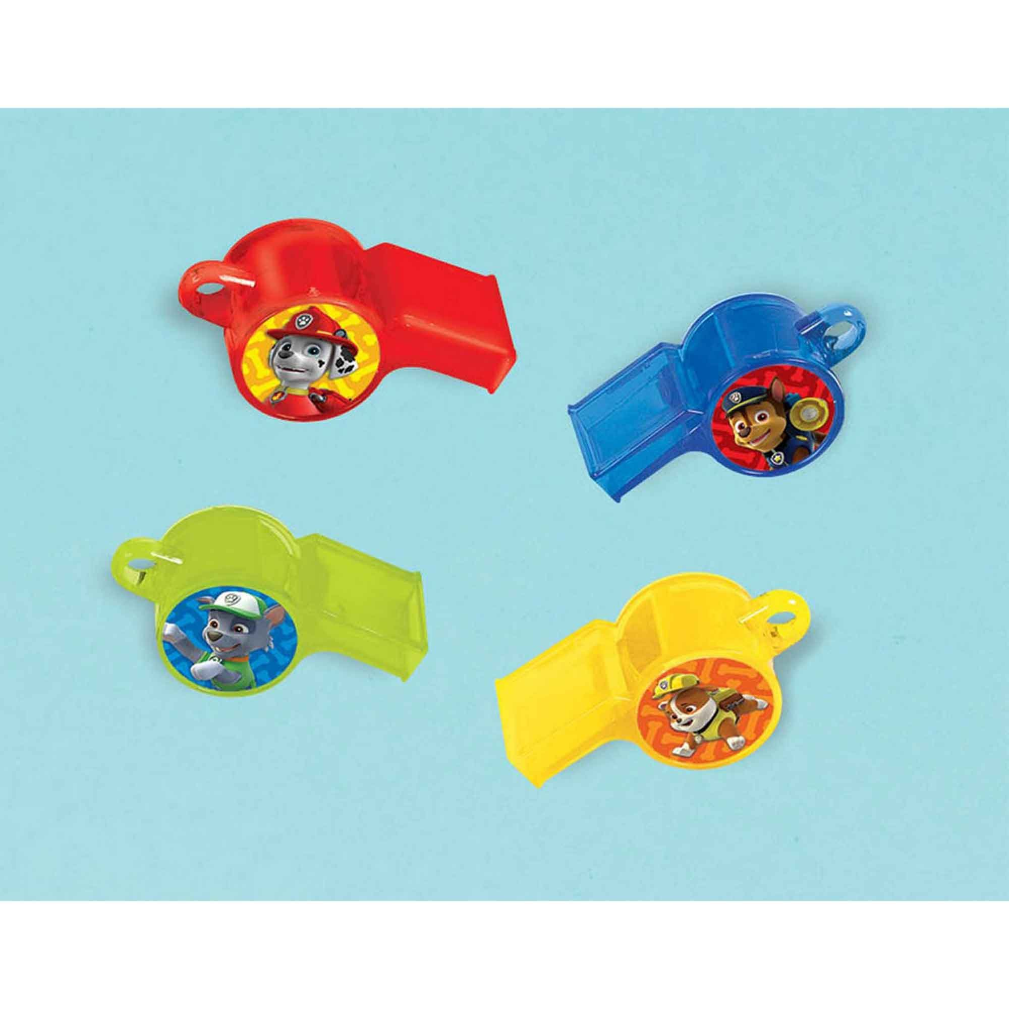 Paw Patrol Whistle Favor