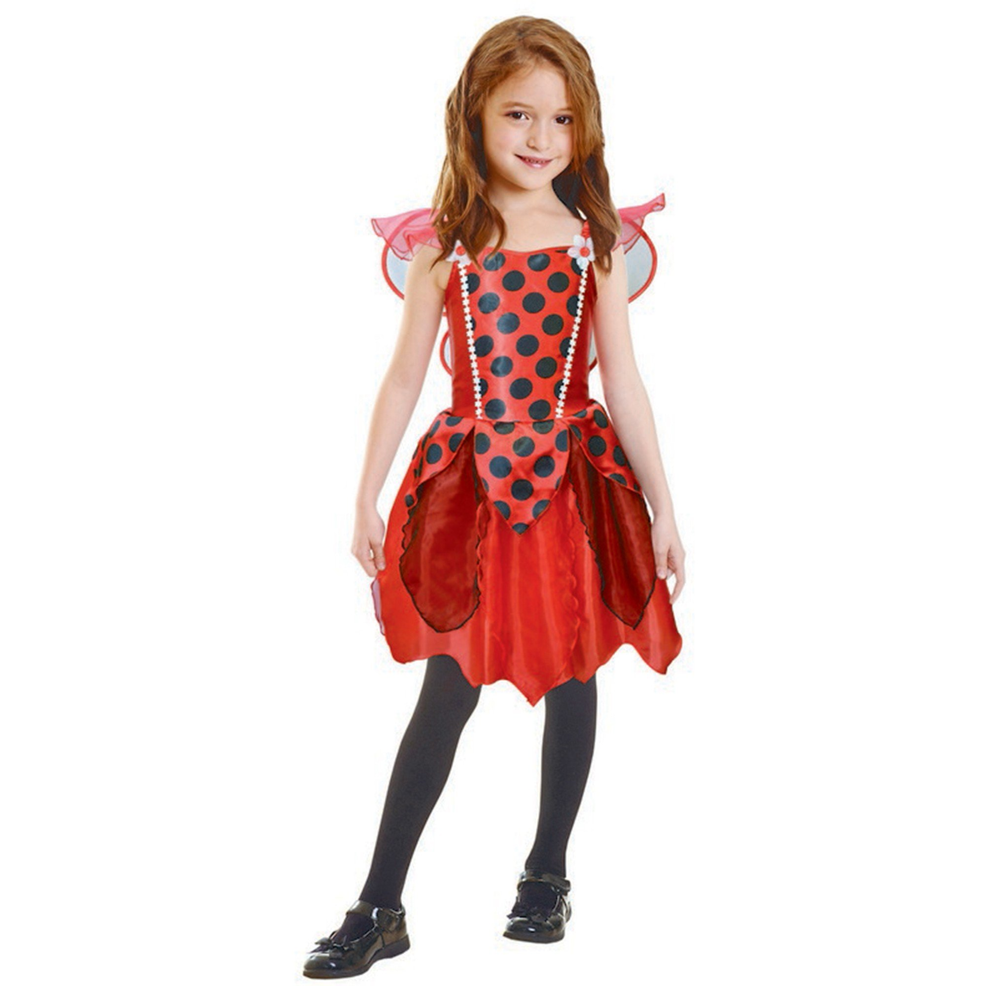 Lady Bug Girl Costume (Small) 3-5 yrs