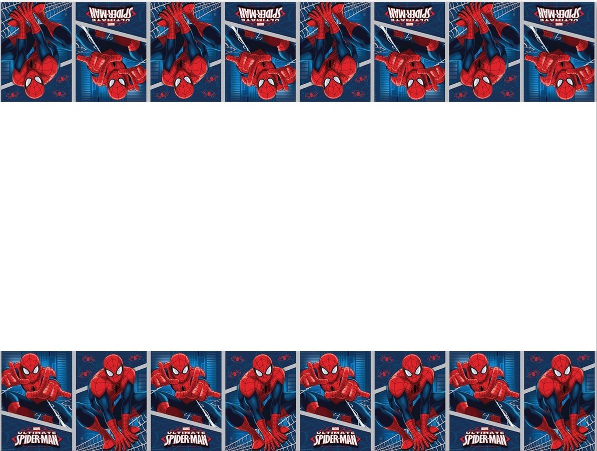 Ultimate Spider-Man Tablecover Plastic
