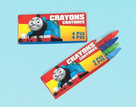 Thomas All Aboard Crayon Favor