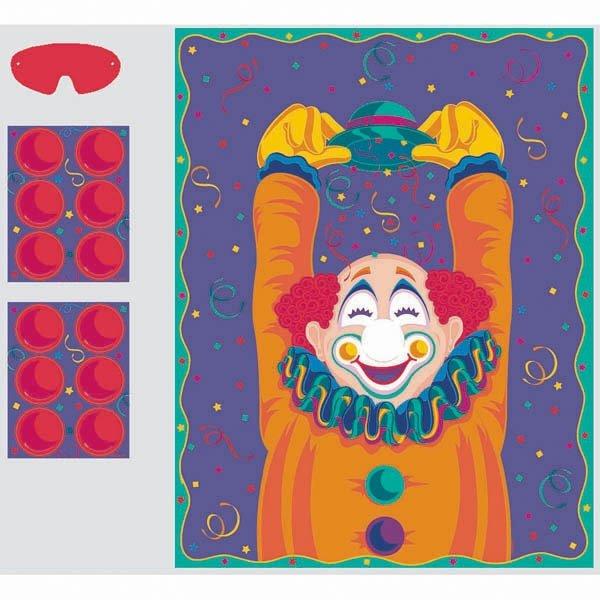 Pin Nose Clown Game