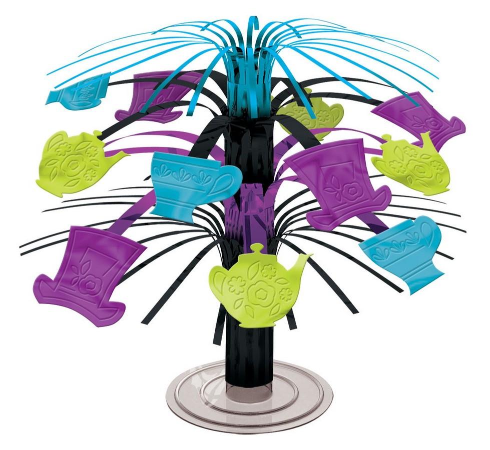 Mad Tea Party Mini Cascade Centrepiece - Foil