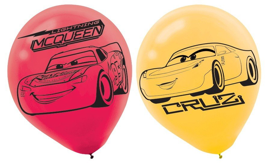 Cars 3 30cm Latex Balloons