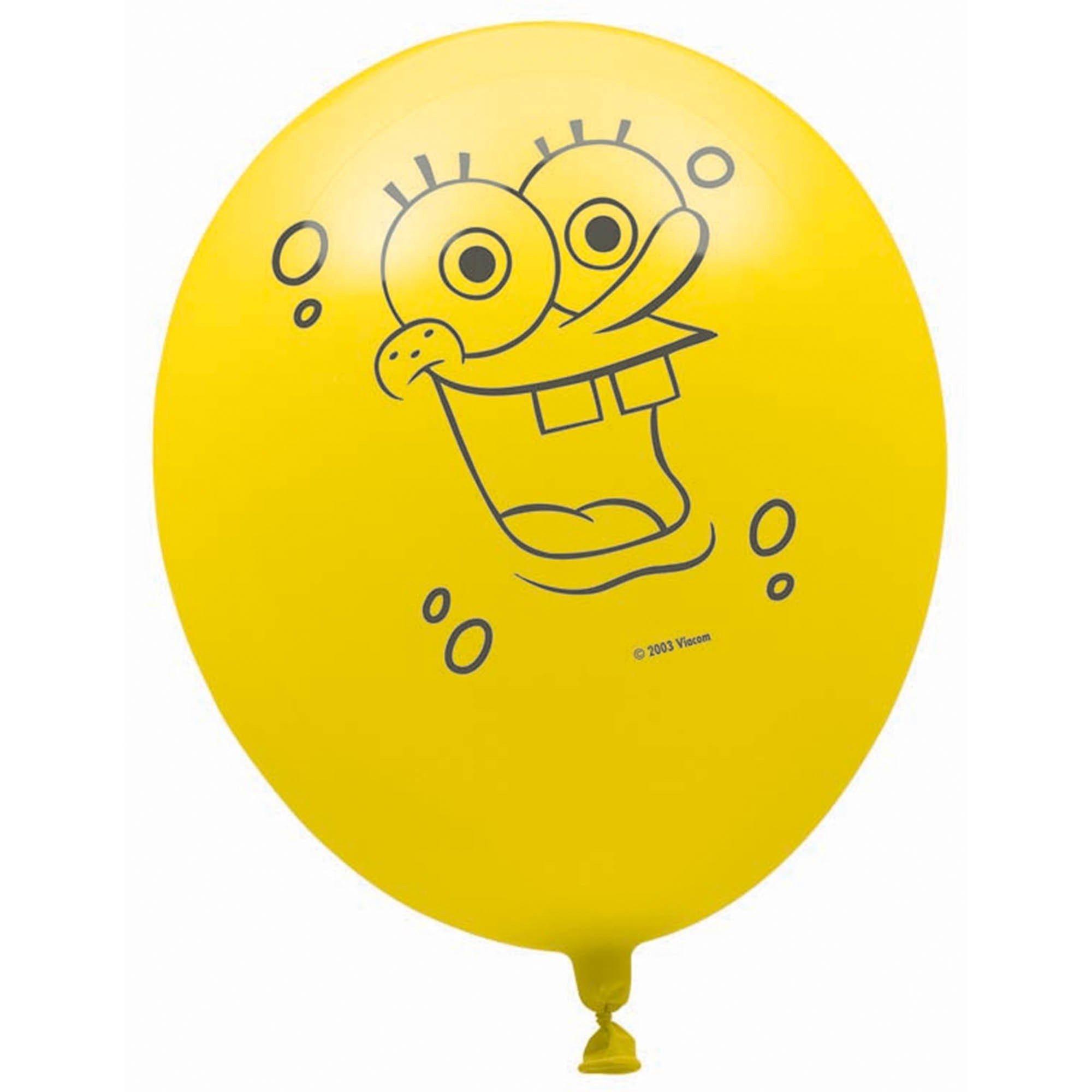 Spongebob 30cm Latex Balloon Helium Quality