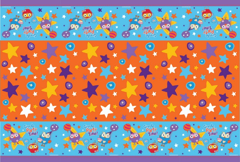 Giggle and Hoot Plastic Tablecover