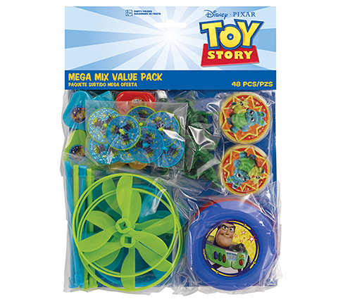 Toy Story 4 Mega Mix Favors Value Pack