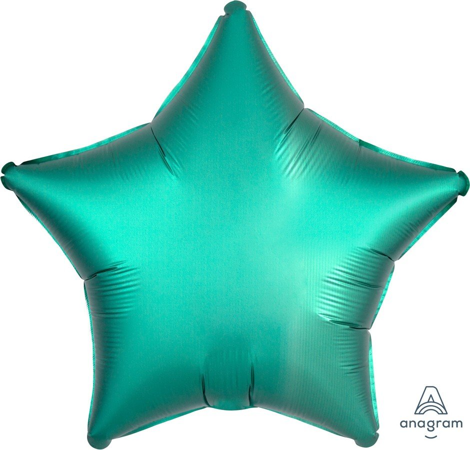 45cm Standard XL Satin Luxe Jade Star S15